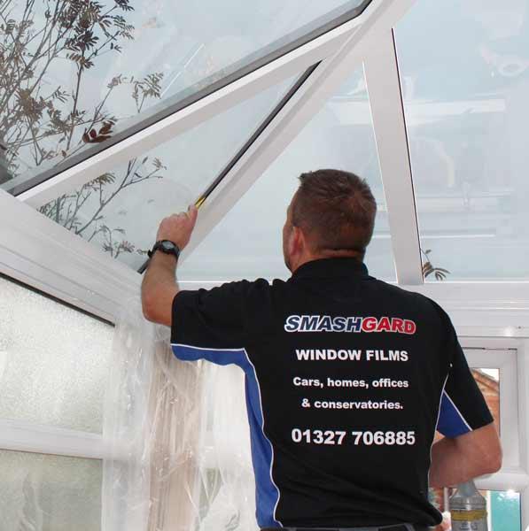 Alternative to conservatory blinds