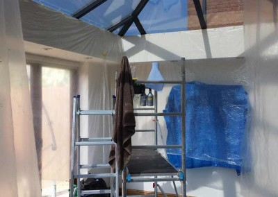 We prepare your conservatory